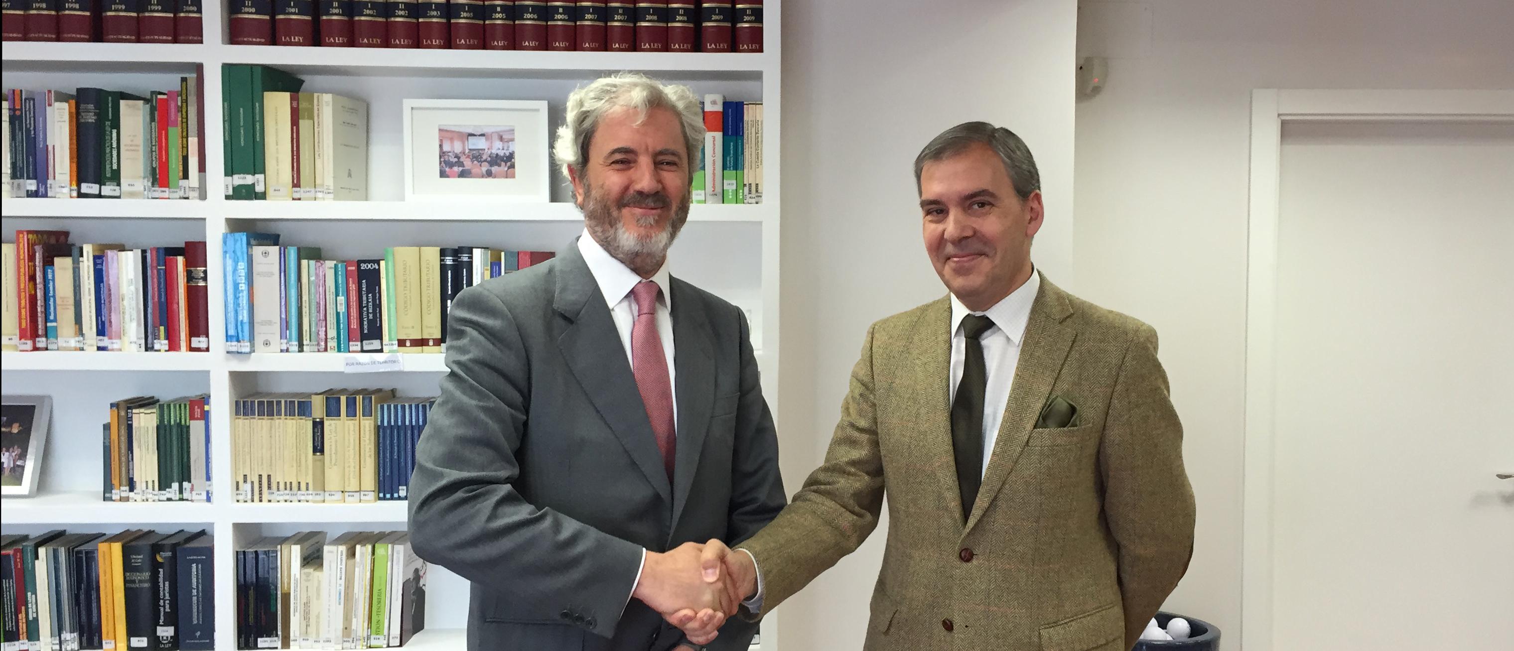 José Ignacio Alemany y Pedro Alonso