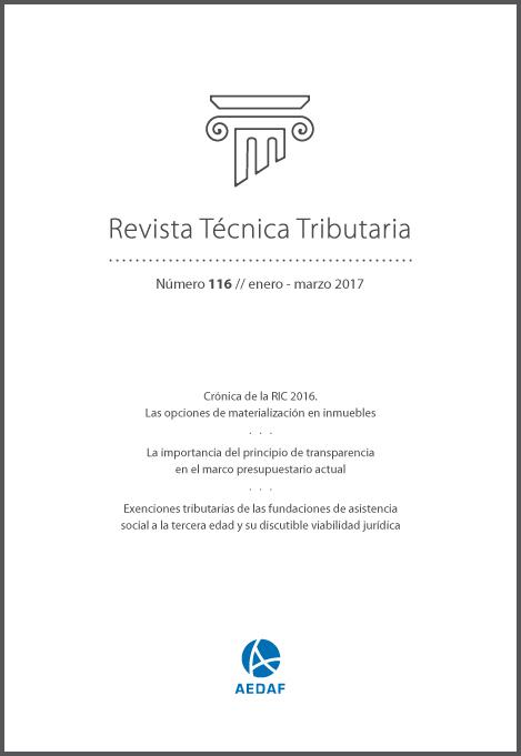 Revista Técnica Tributaria