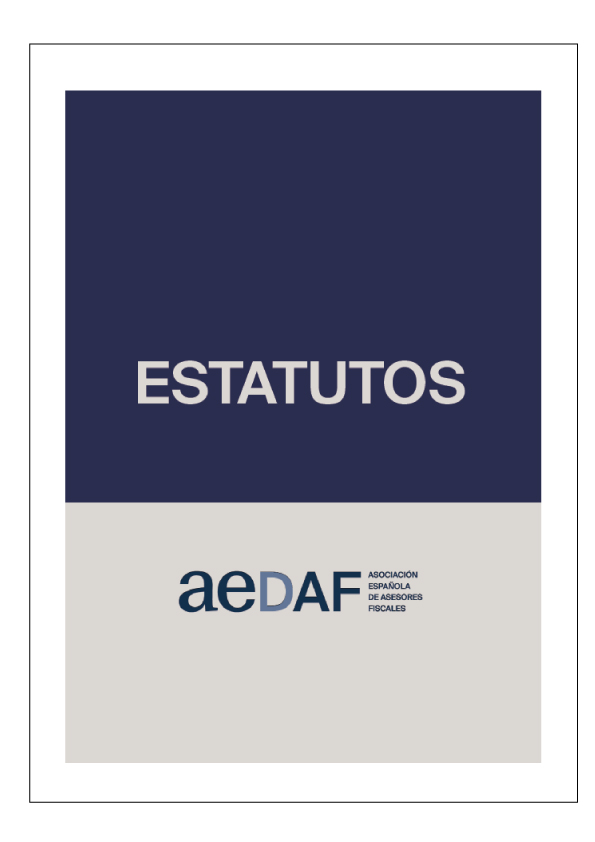 Estatutos AEDAF