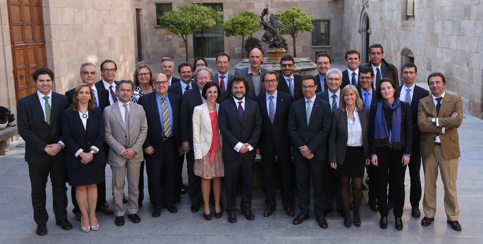 Visita AEDAF al Presidente de la Generalitat de Catalunya