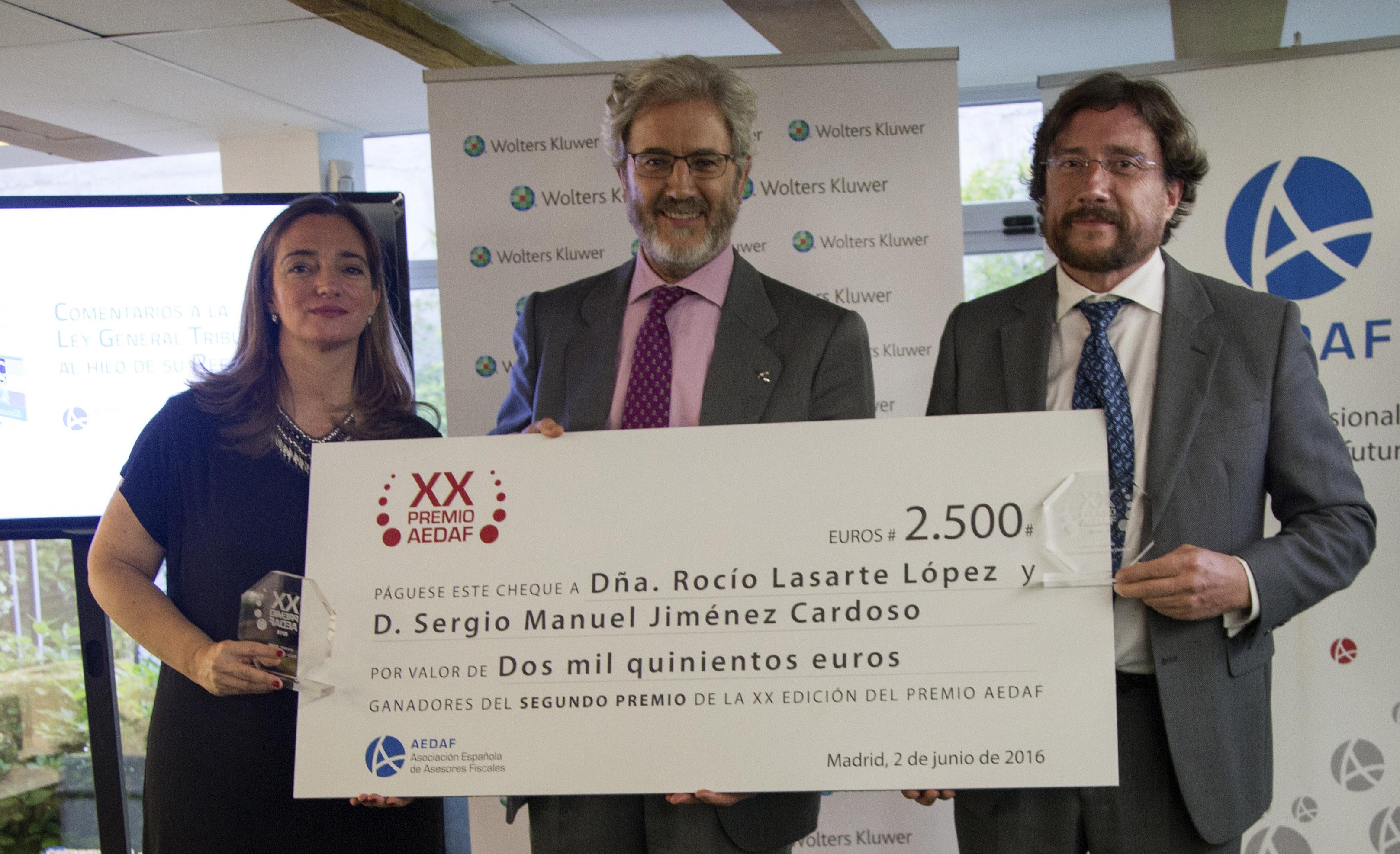 Ganadores del XX Premio AEDAF