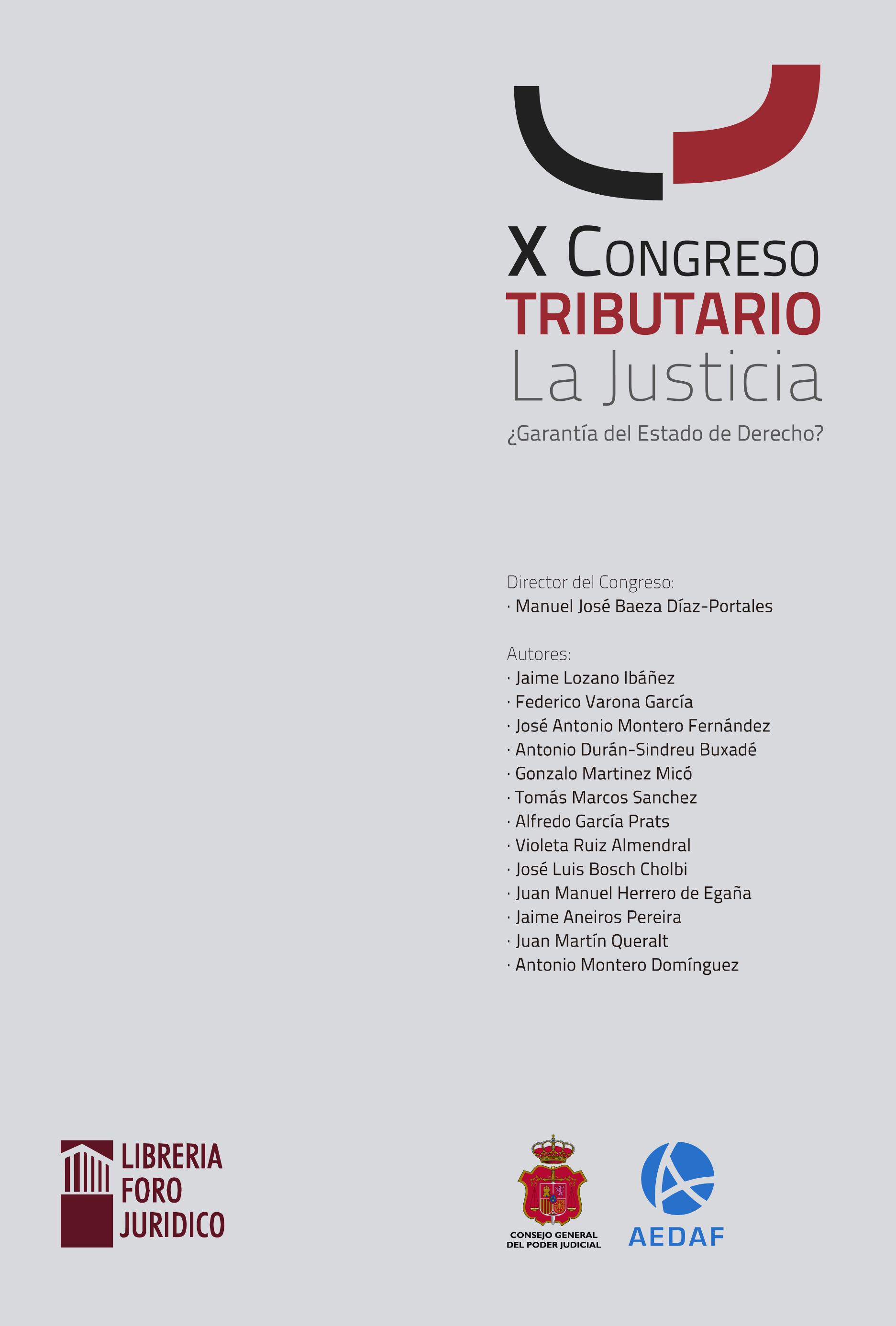 Libro X Congreso Tributario